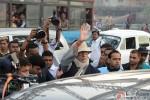 Amitabh Bachchan during the shooting of movie 'Piku'