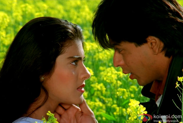 Kajol and Shah Rukh Khan in a still from movie 'Dilwale Dulhaniya Le Jayenge'