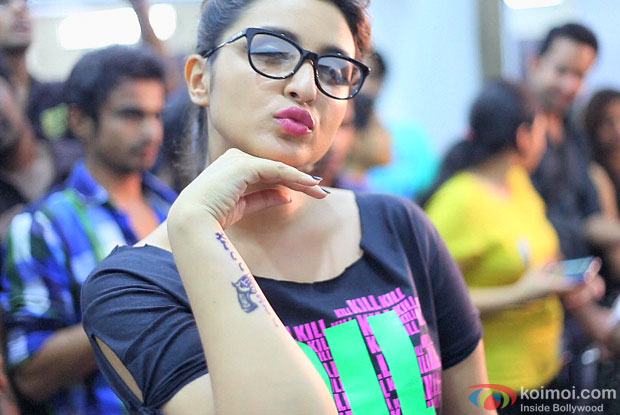 Parineeti Chopra at 6th Indian Ink International Tattoo Convention
