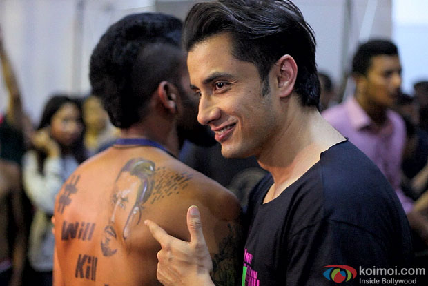 Ali Zafar at 6th Indian Ink International Tattoo Convention