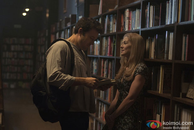 Ben Affleck and Rosamund Pike in a still from movie 'Gone Girl'