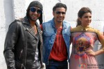Ranveer Singh, Ali Zafar and Parineeti Chopra during the promotion of movie 'Kill Dil' Pic 1