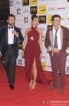 Saif Ali Khan, Ileana D'Cruz and Govnida during the Grand Premiere Of Movie 'Happy Ending'