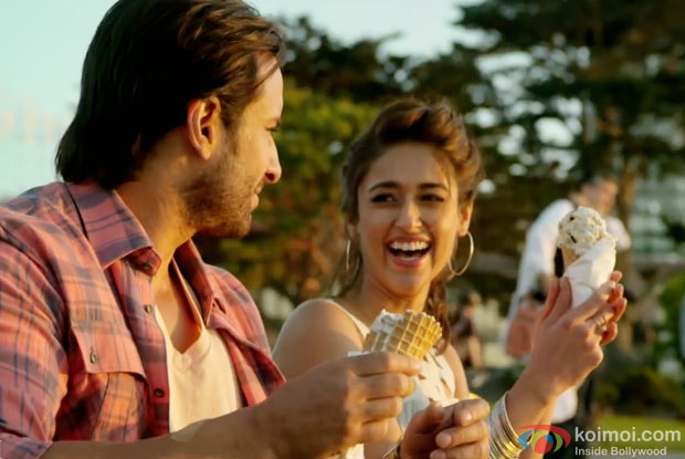 Saif Ali Khan and Ileana DCruz in a still from movie 'Happy Ending'