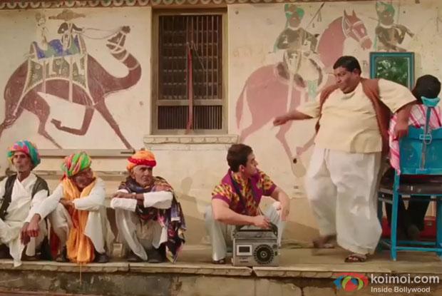 Aamir Khan Shot The Funny 'Fat Barber' Scene In 'PK'
