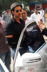 Hrithik Roshan Spotted Outside Bandra Family Court!