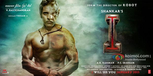 Vikram starrer 'I' Movie Poster