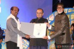 Rajinikanth and Amitabh Bachchan during the Inauguration Ceremony Of IFFI 2014 Pic 3
