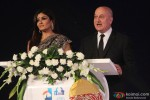 Raveena Tandon and Anupam Kher during the Inauguration Ceremony Of IFFI 2014