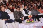 Amitabh Bachchan and Rajinikanth during the Inauguration Ceremony Of IFFI 2014