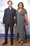 Aditya Hitkari and Divya Palat At Grey Goose India's Fly Beyond Awards