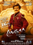 Rajinikanth in a Lingaa Movie Poster 1