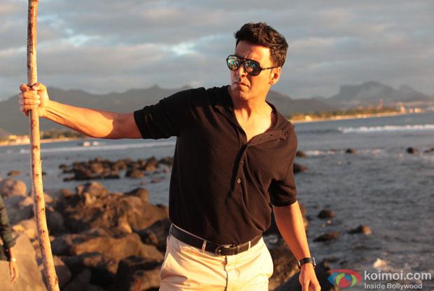 Akshay Kumar in a still from movie 'The Shaukeens'