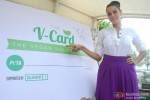 Neha Dhupia during the PETA V-Card Launch Pic 4