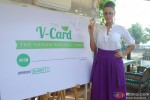 Neha Dhupia during the PETA V-Card Launch Pic 5