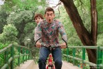Anushka Sharma and Aamir Khan in PK Movie Stills PIc 2