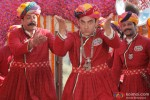 Sanjay Dutt and Aamir Khan in PK Movie Stills