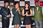 Karanvir Sharma, Priyanka Chopra, Mannara and Anubhav Sinha During The Music Launch Of Movie 'Zid'