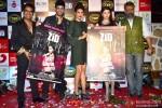 Mushtaq Sheikh, Karanvir Sharma, Priyanka Chopra, Mannara and Anubhav Sinha During The Music Launch Of Movie 'Zid'
