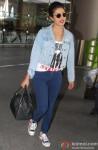 Priyanka Chopra Spotted At Mumbai Airport Pic 2