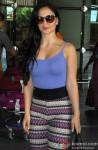 Elli Avram Spotted At Mumbai Airport Pic 1