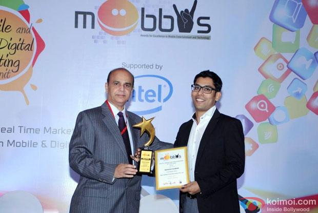 Manish Kumar At The Mobbys Awards 2014