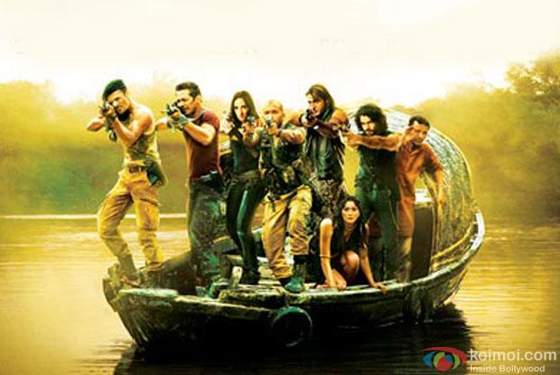 A still from the movie 'Roar - Tigers Of Sundarbans'