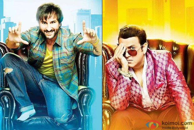 Saif and Govinda from 'Happy Ending'