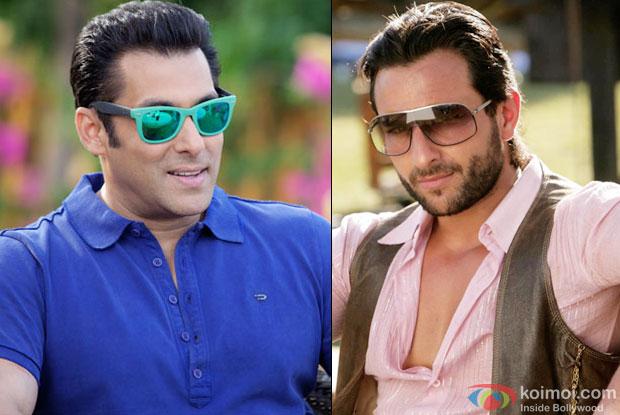 Salman Khan and Saif Ali Khan