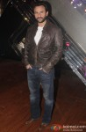 Saif Ali Khan during the promotion of movie 'Happy Ending' on the sets of 'India's Raw Star'