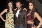 Kalki Koechlin, Saif Ali Khan and Ileana D'Cruz during the promotion of movie 'Happy Ending' on the sets of 'India's Raw Star'