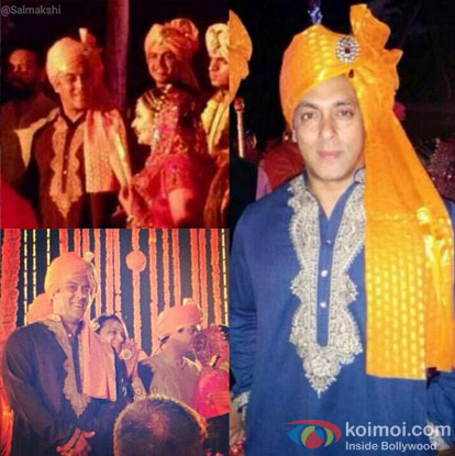 Salman Khan Becomes The 'Baraati' For Pulkit Samrat's Wedding