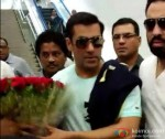 Salman Khan Arrives In Hyderabad For Arpita Khan Wedding