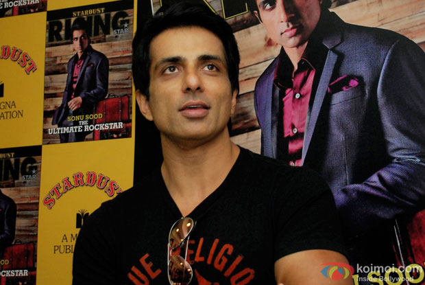 Sonu Sood at an event