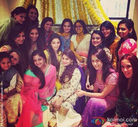 Salman Khan's Sister Arpita's Sangeet Ceremony