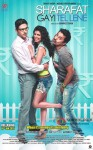 Zayed Khan, Tena Desae and Rannvijay Singh starrer Sharafat Gayi Tel Lene Movie Poster 2