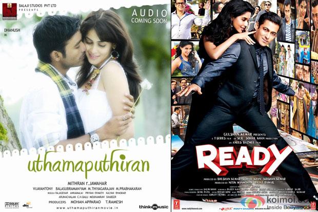 Uthamaputhiran and Ready Movie Poster
