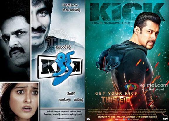 Kick (2009) and Kick (2014) Movie Poster