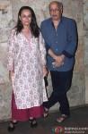Soni Razdan and Mahesh Bhatt At Special Screening Of Movie 'Rang Rasiya'