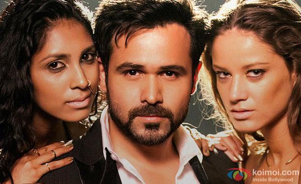 Emraan Hashmi in a 'Ungli Pe Nachalein' song still from movie 'Ungli'