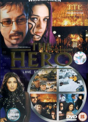 The HERO – Love Story of A Spy (2003) Movie Poster