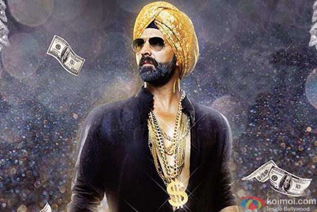 Akshay Kumar in a 'Singh Is Bling' movie poster