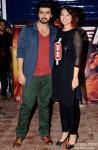 Arjun Kapoor and Sonakshi Sinha during the promotion of movie 'Tevar' at IIT Powai Pic 1