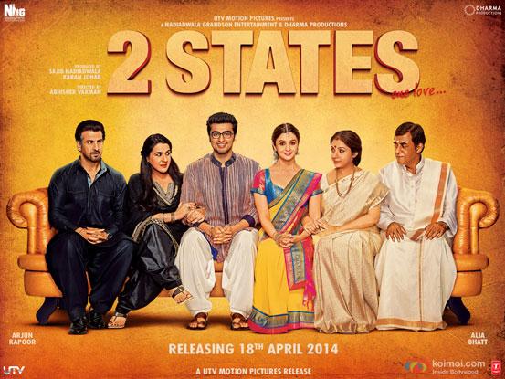 2 States (2014) Movie Poster
