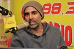 Akshay Kumar during the promotion of 'Baby' at Radio Mirchi