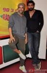 Akshay Kumar & Rana Daggubati during the promotion of 'Baby' at Radio Mirchi Pic 1