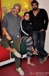 Akshay Kumar & Rana Daggubati during the promotion of 'Baby' at Radio Mirchi Pic 2
