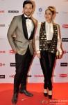 Ali Fazal and Sapna Pabbi At 60th Britannia Filmfare Pre-Awards Party