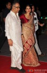 Kajol during the Kush Sinha's wedding reception