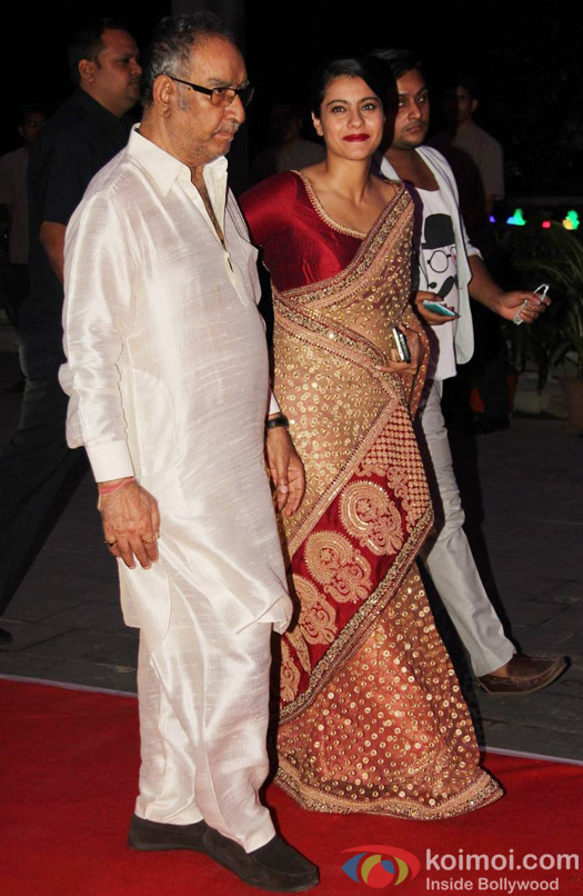 Luv Sinha, Shatrughan Sinha, Sonakshi Sinha, Poonam Sinha and Taruna Agarwal during the Kush Sinha's wedding reception